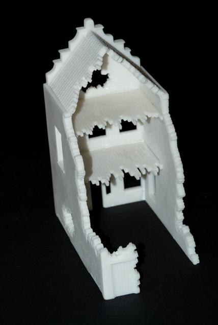 Airfix European Town House 1 76 Scale Modelling Now