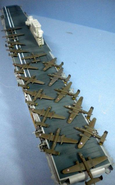 trumpeter u s s  aircraft carrier cv