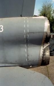 Set2 Pt2. THUMB E.E. Lightning F6 XR773 l-side jet pipes PIC
