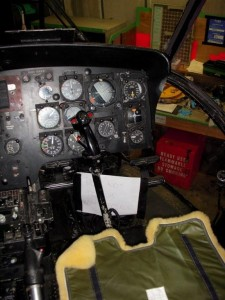 Thumbnail - Sea King HU5 cockpit right seat detail pic