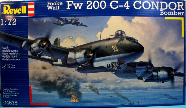 revell focke wulf fw 200 c 4 condor bomber 1 72 scale modelling now. Black Bedroom Furniture Sets. Home Design Ideas