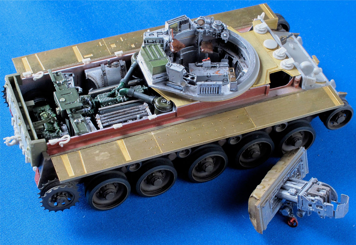 Resicast A34 Comet Tank 1 35 Page 7 Scale Modelling Now