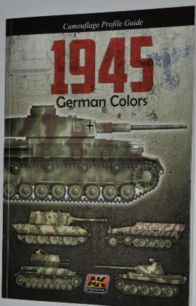 1 BR Ar AK Interactive Camouflage Profile Guide 1945 German Colours