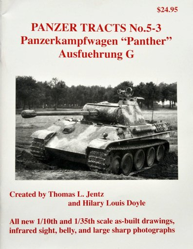 1 BR Ar Panzer Tracts No 5-3 Panther G