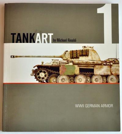 1 BR Ar Rinaldi Studio Press Tank Art 1 WWII German Armor