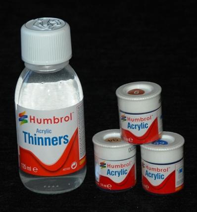1 HN TM Humbrol Acrylic Thinner