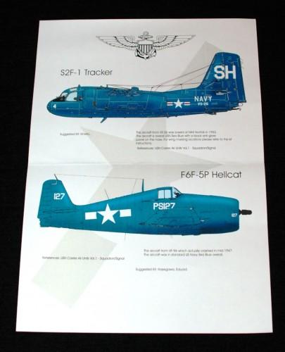 2  HN Ac Decals Blackbird Models US Navy Blues Pt.2, 1.48