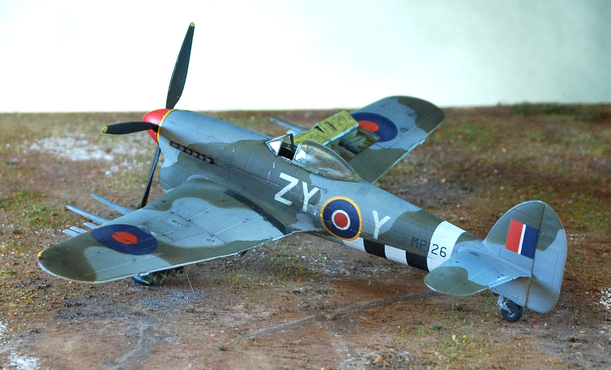 1/32 Hawker Tempest V - Special Hobby | Aircraft of World War II ... | 742x1225