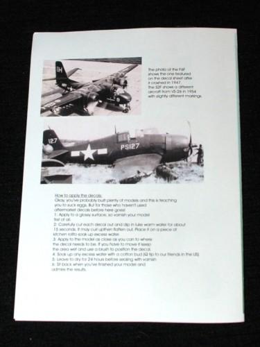 3  HN Ac Decals Blackbird Models US Navy Blues Pt.2, 1.48