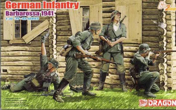 1 HN Ar Dragon German Infantry Barbarossa 1941 1.35
