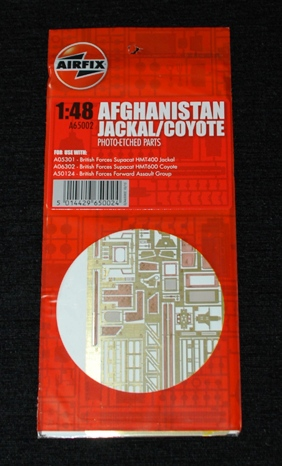 1 HN Ar Other Airfix PE Afghanistan Jackal Coyote 1.48