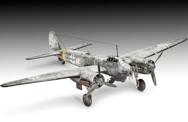2 HN Ac Revell Junkers Ju 88C6 ZN 1.72