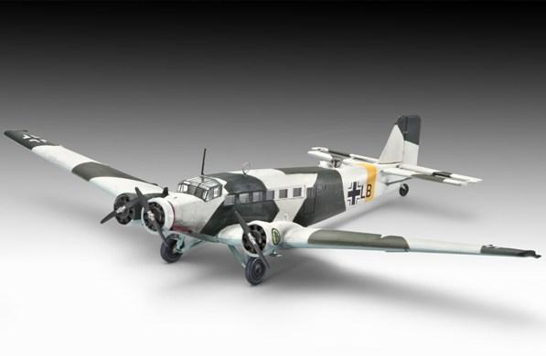 3a HN Ac Revell Junkers Ju 52 3m 1.144