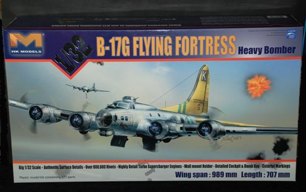 1 HN Ac HKM B17G Flying Fortress 1.32