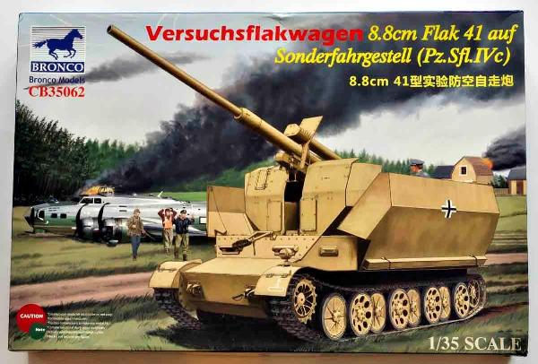 1 HN-Ar-Bronco-Versuchsflakwagen 8.8cm Flak 41