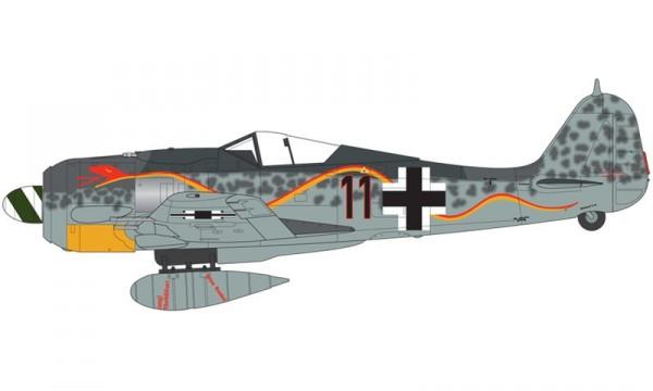 16 HN Ac Airfix Focke Wulf Fw 190A-8 1