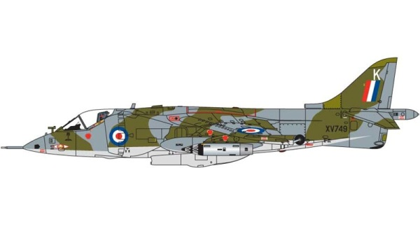 14a HN Ac Airfix Hawker Siddeley Harrier GR1 1.72