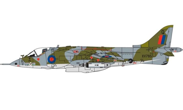 14b HN Ac Airfix Hawker Siddeley Harrier GR1 1.72
