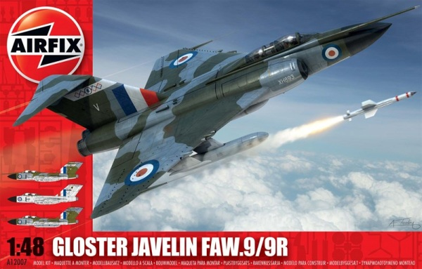1 HN Ac Airfix Gloster Javelin FAW9 9R 1.48