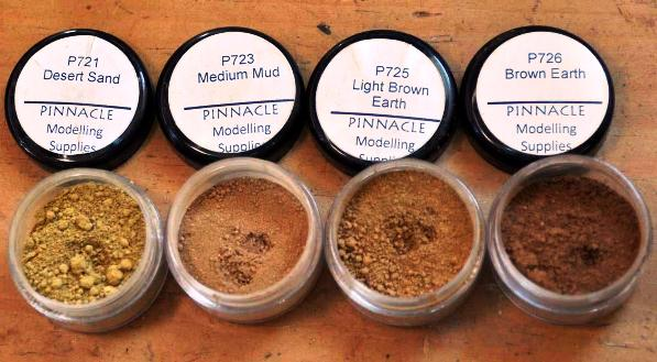 1 HN TM PMS  Weathering Pigments an armour modellers view