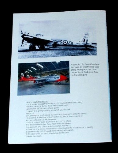 3 HN Ac Decals Blackbird Models Post War RAF Pt1 1.72