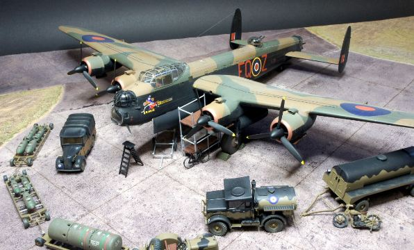 00b BN Ac Airfix Avro Lancaster BII and Supply Set 1.72 Pt1