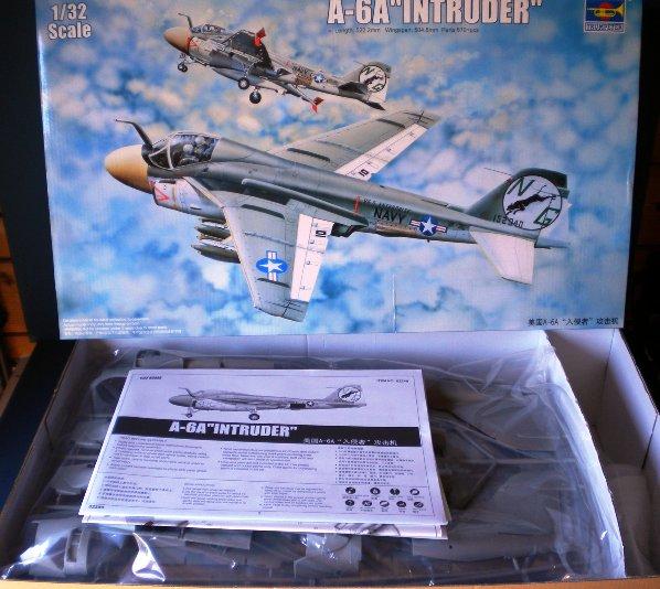 3 HN Ac Trumpeter A6A Intruder 1.32