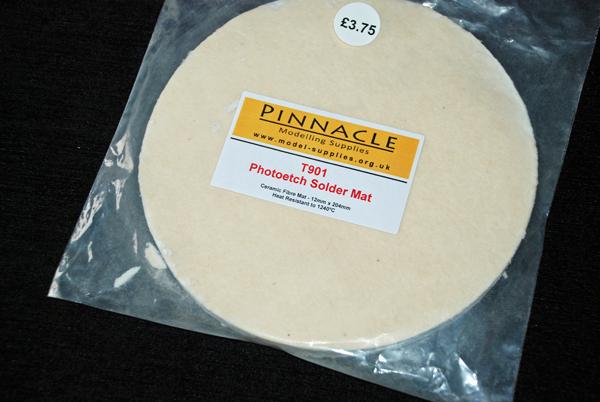 1 HN TM Pinnacle MS Photo Etch solder mat