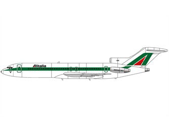 Option B - Boeing 727-243, I-DIRI 'Citta di Siena', Alitalia, 1982