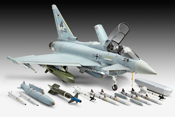 Revell   Eurofighter Typhoon Build