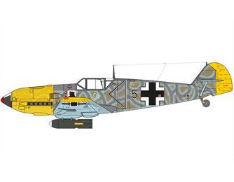 13-HN-Ac-Airfix-Messerschmitt-Bf109E4N-Trop-1.48