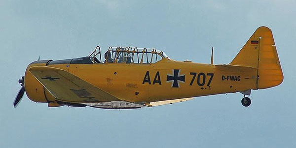 NA-T6 Luftwaffe-Warbird Photo by Kogo