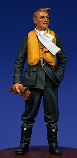 00 HN Ac Resin Ultracast Battle of Britain Pilot 1.32