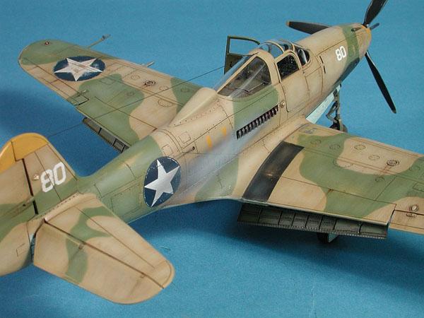 0c BN Ac Hasegawa P400 Airacobra 1.48 Pt1
