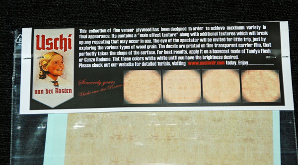3 HN Ac Decals Uschi Woodgrain Decal Fine Veneer