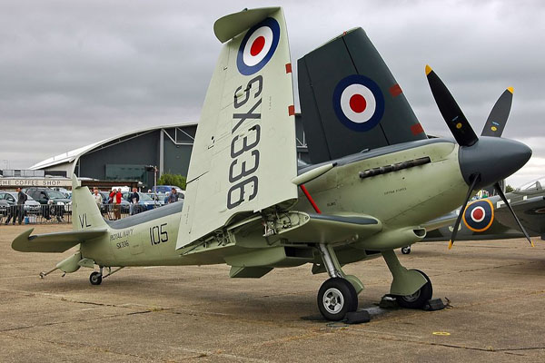 Supermarine Seafire Mk.XVII – photo courtesy of Kogo