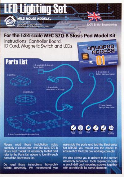 8 HN SF MEC S70B Stasis Pod