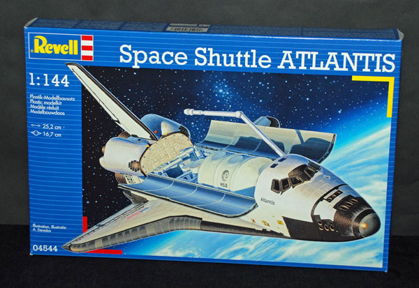 revell germany space shuttle atlantis model kit - photo #4