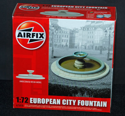 1 HN Ar Airfix European City Fountain 1.72
