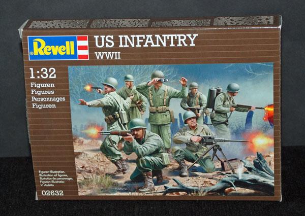 1 HN Ar Revell US Infantry WWII 1.32