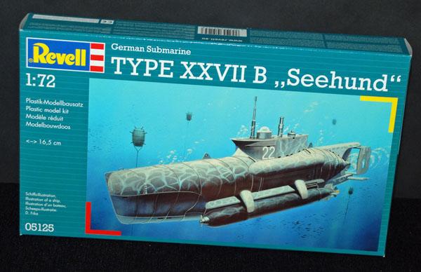1 HN Ma Revell Type XXVIIB Seehund 1.72
