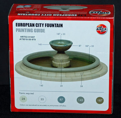 2 HN Ar Airfix European City Fountain 1.72