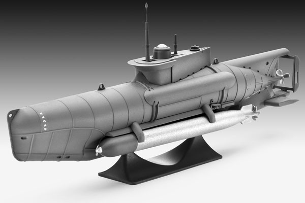 2 HN Ma Revell Type XXVIIB Seehund 1.72