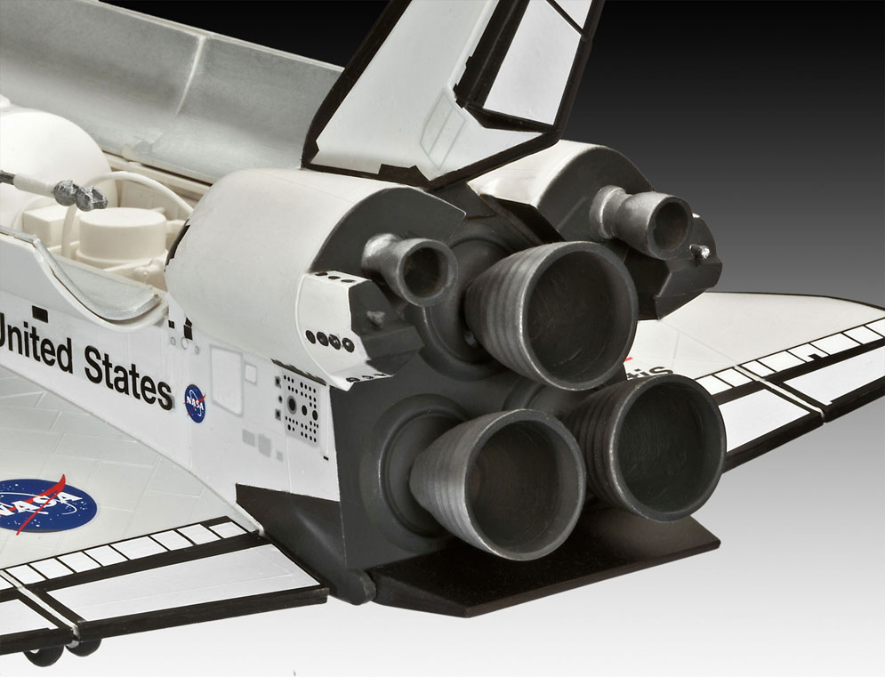revell germany space shuttle atlantis model kit - photo #23