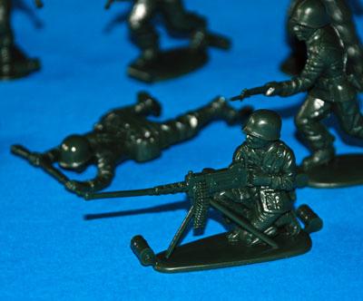 4 HN Ar Revell US Infantry WWII 1.32