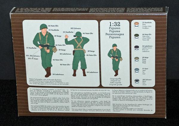5 HN Ar Revell US Infantry WWII 1.32