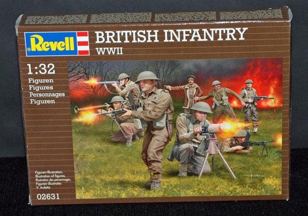 1 HN Ar Revell British Infantry WWII 1.32