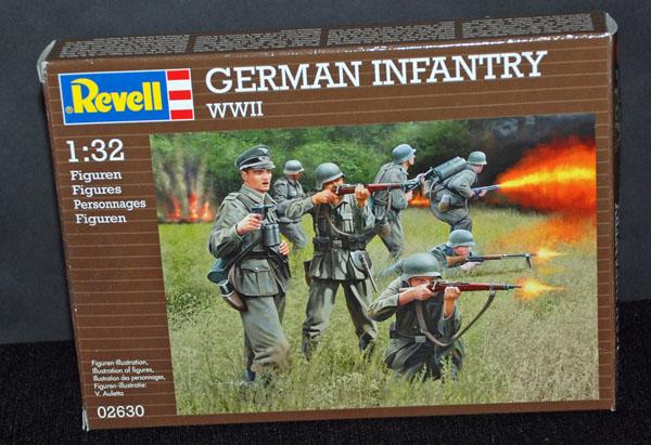 1 HN Ar Revell German Infantry WWII 1.32
