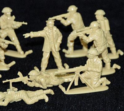 3 HN Ar Revell British Infantry WWII 1.32