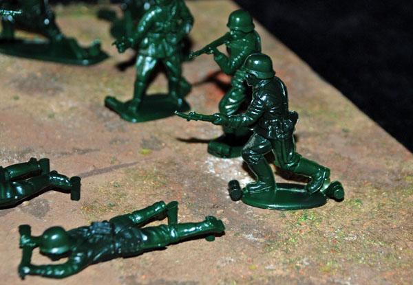 4 HN Ar Revell German Infantry WWII 1.32